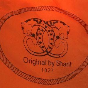 Sharif Handbag 2 tone brown